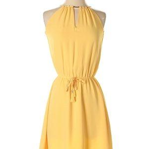 WHBM | Yellow dress | Size 10